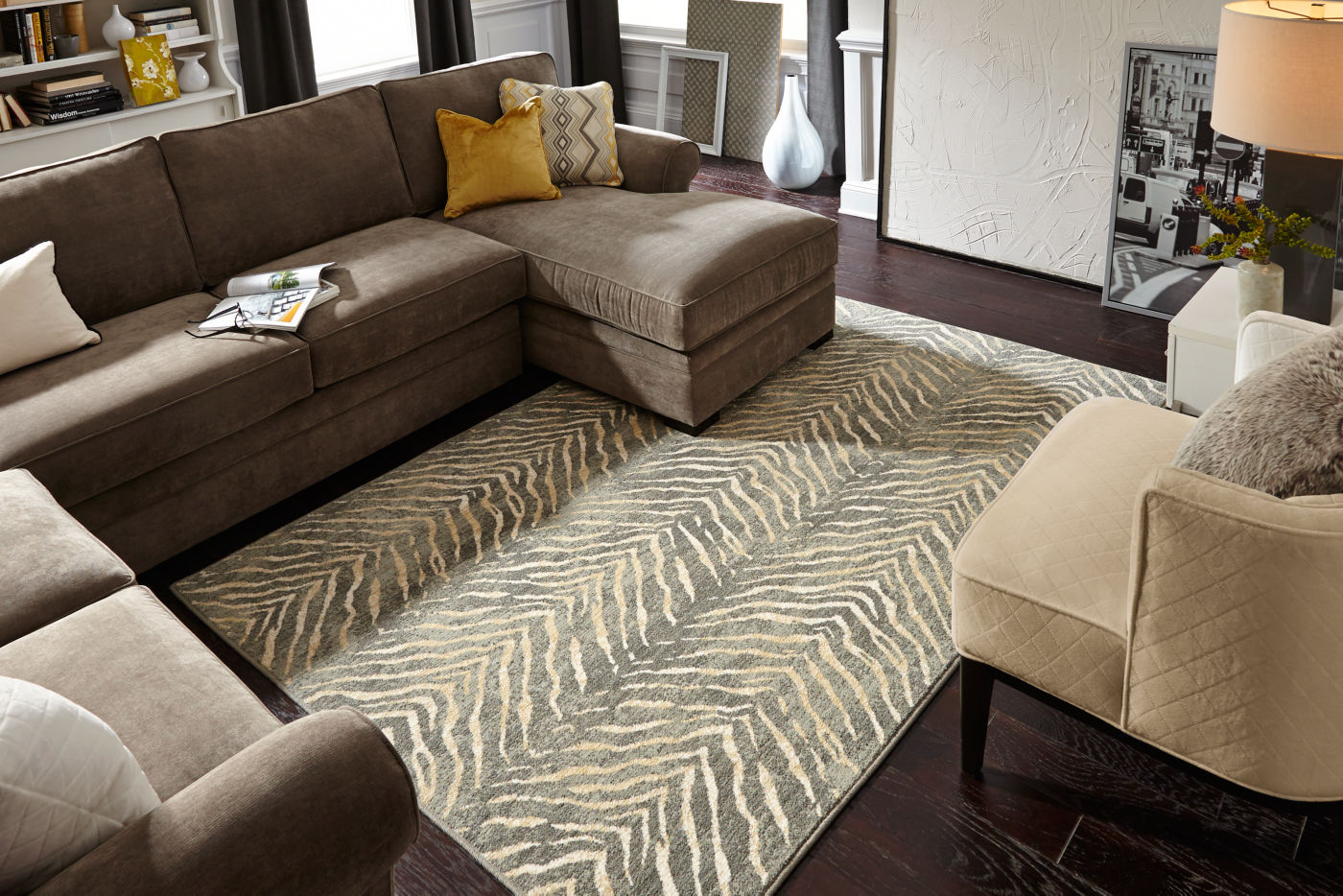 Modern living room | Westport Flooring