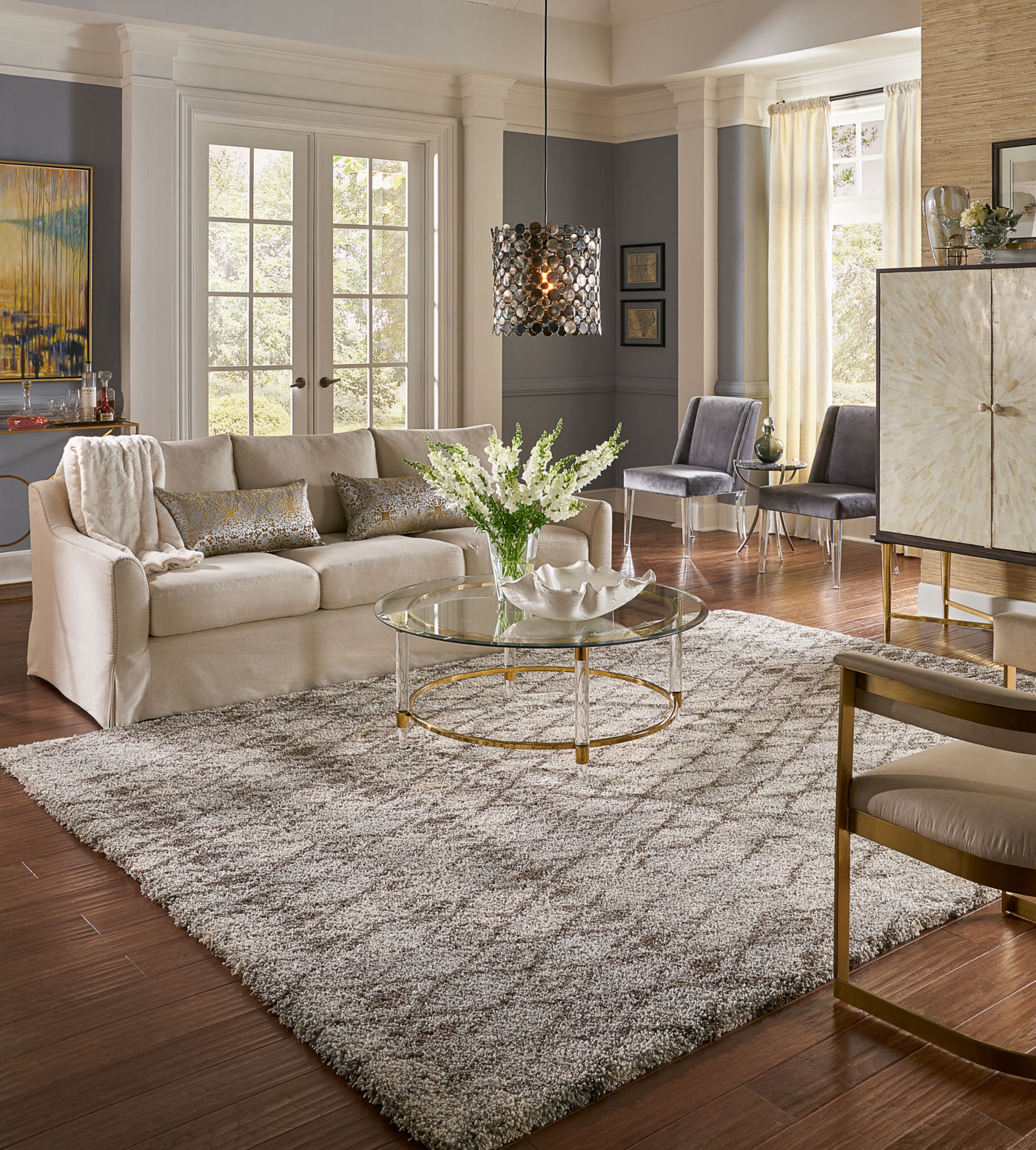 Living room Area Rug | Westport Flooring