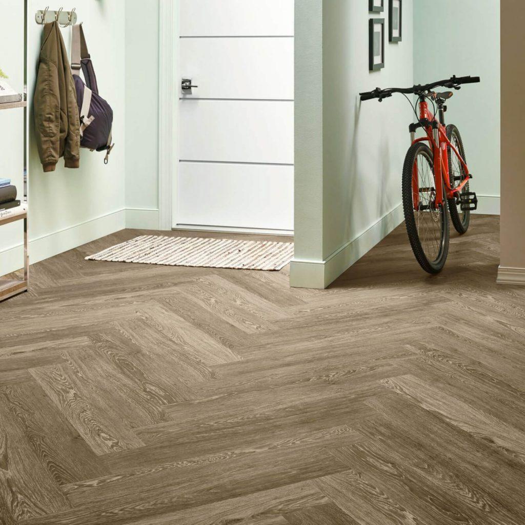 Bicycle on flooring | Westport Flooring