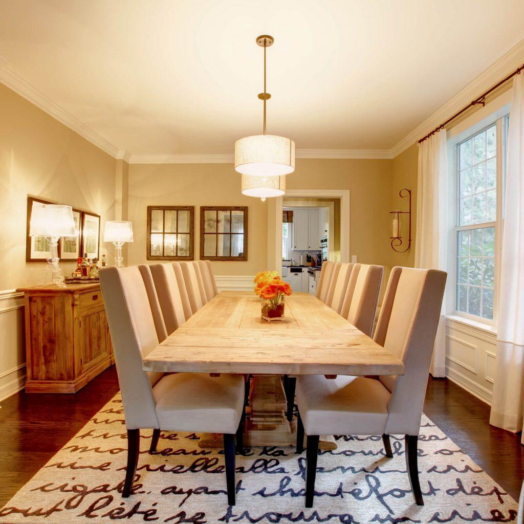 Choosing the Best Rug for Your Dining Room | Westport Flooring