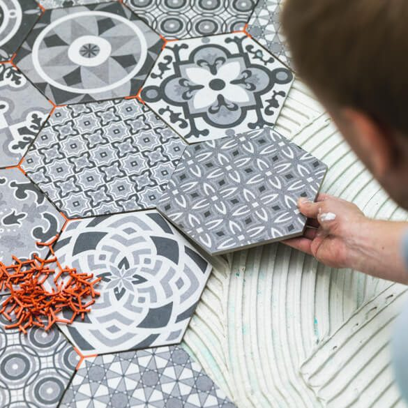 Tile installation | Westport Flooring