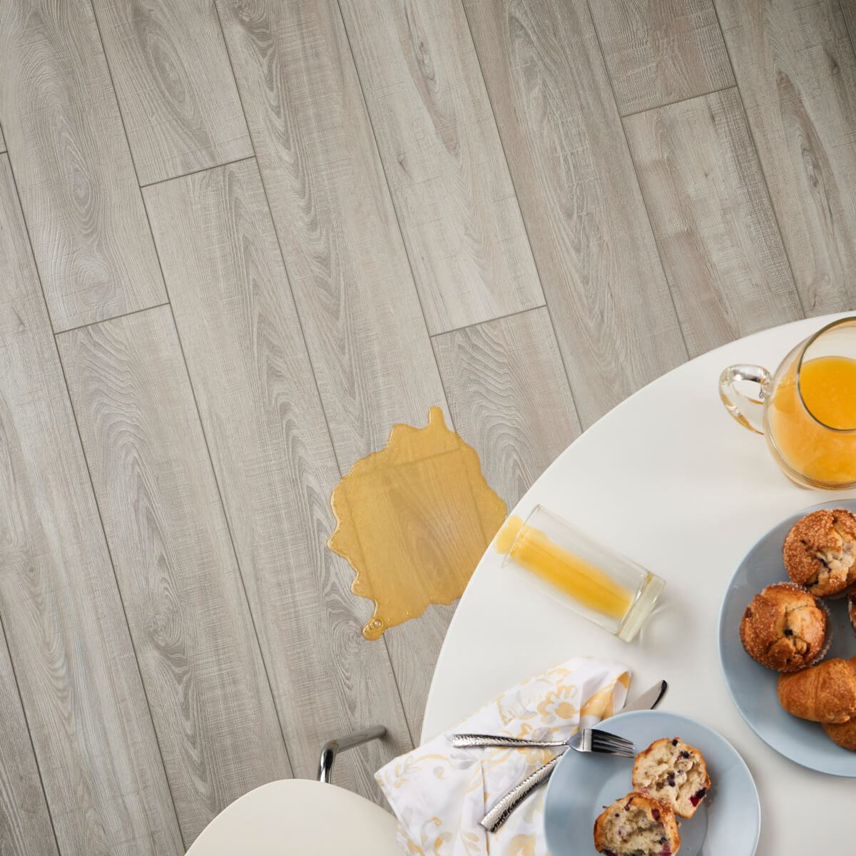 Juice spill | Westport Flooring